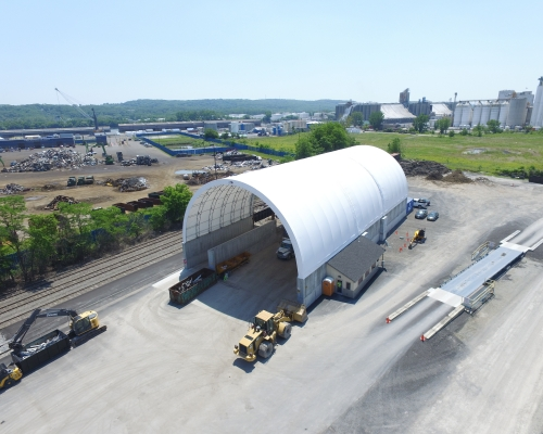 Industrial Fabric tent