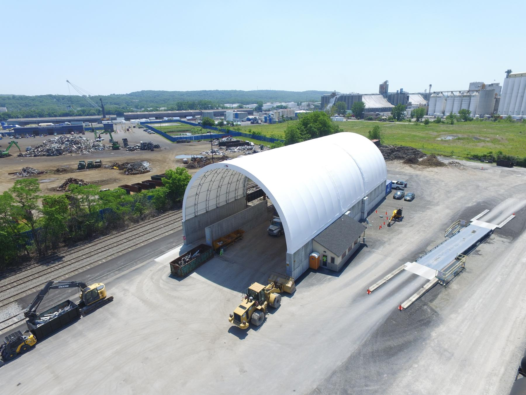 Better Fabric Structure in railyard