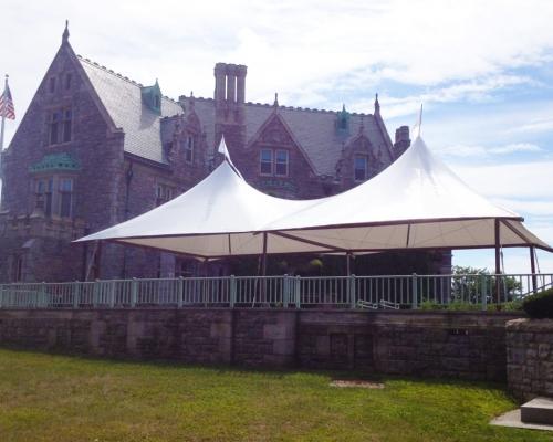 Stillwater Frame Tent  on Patio