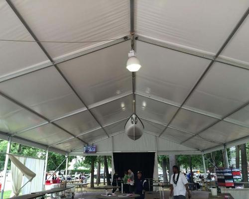 Interior of beer tent