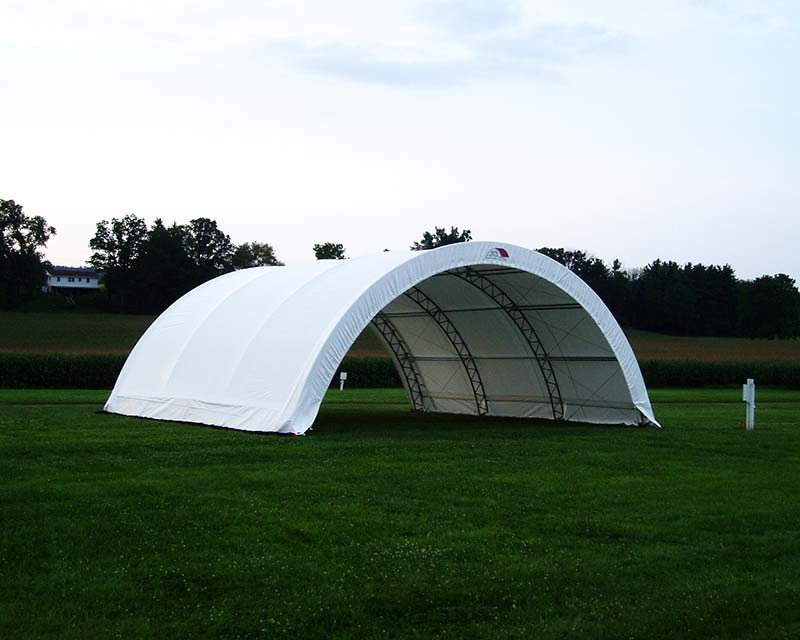 Fabric structure in field