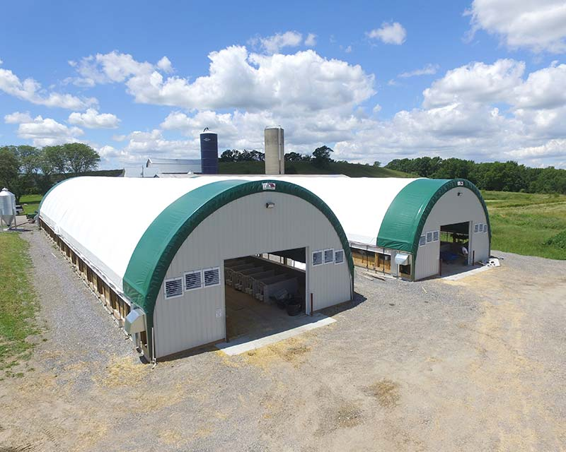 2 farm Fabric Farm structures