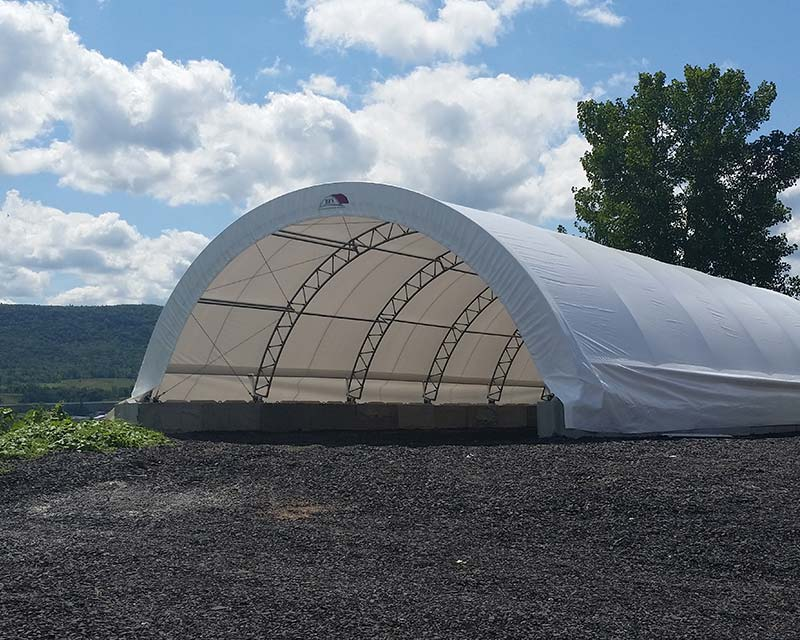 Empty Fabric Farm structure