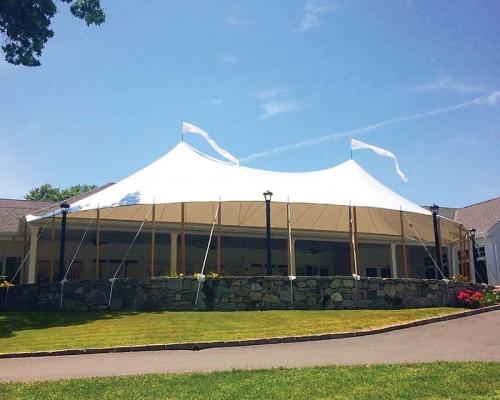 Large wedding tent
