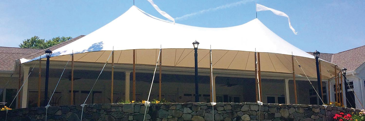 Custom Sailcloth Tent for Ridgewood Country Club | Fred's ...