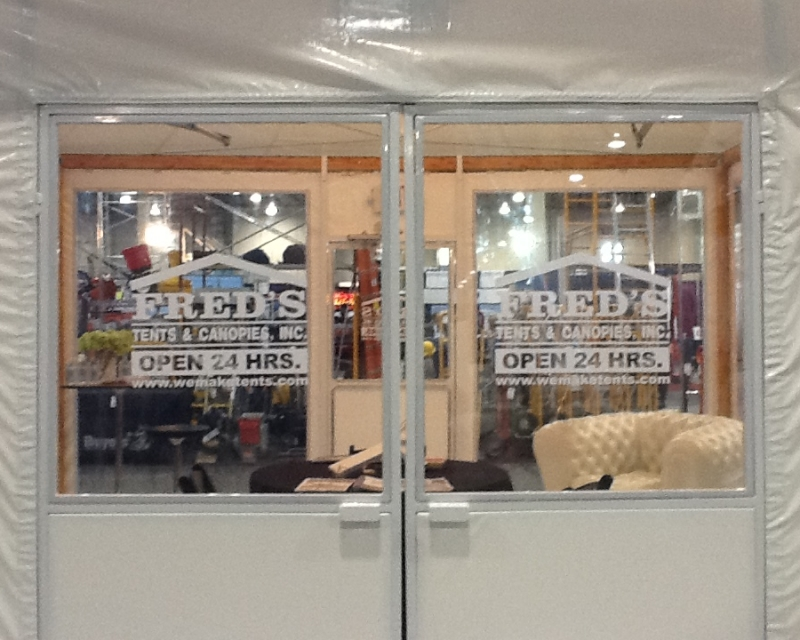 Value doors with Fred's decals