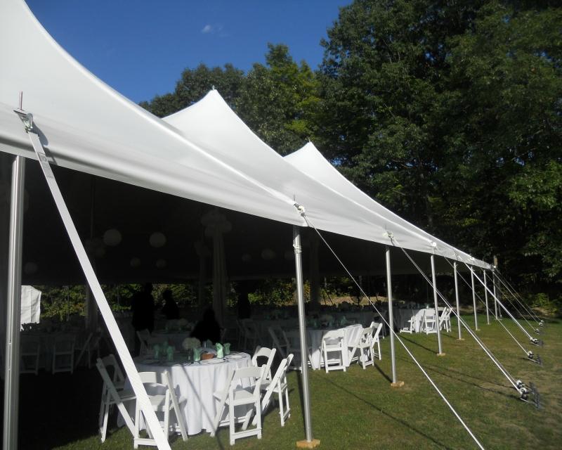 Pole Tent Aluminum Q-Tube Side Poles