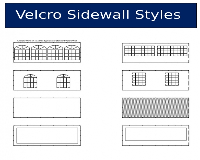 velcro wall styles