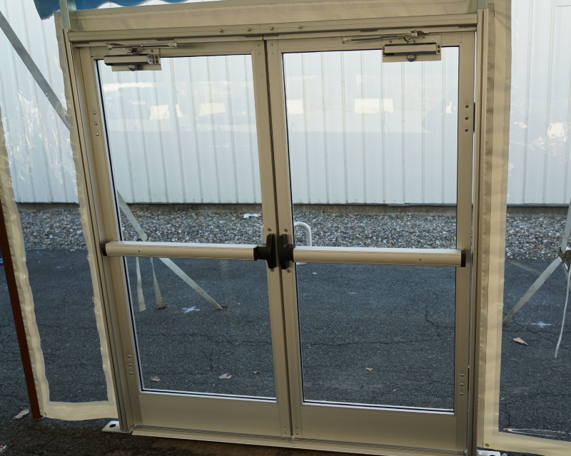 Aluminum Tent Doors