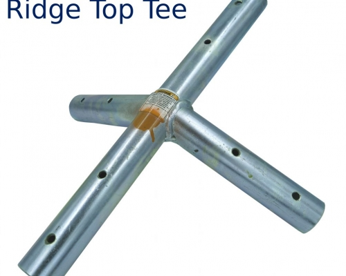 tent frame ridge top tee fitting