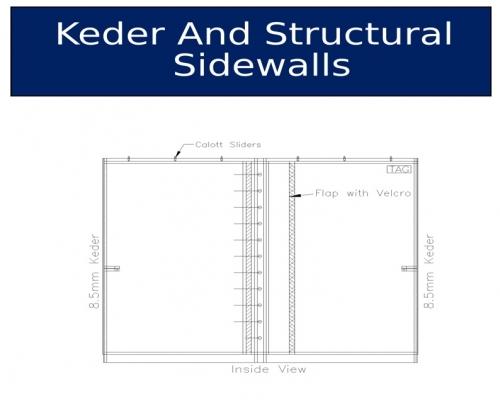 Keder and Structural Sidewalls