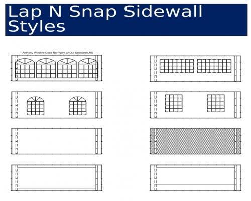 LNS Sidwall Styles